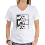 GOLF 042 Women's V-Neck T-Shirt