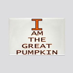 I am the Great Pumpkin Rectangle Magnet
