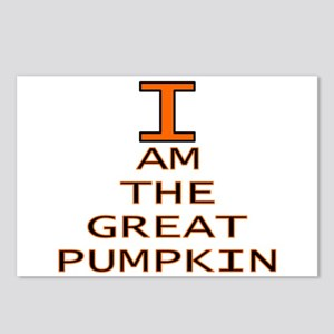 I am the Great Pumpkin Postcards (Package of 8)