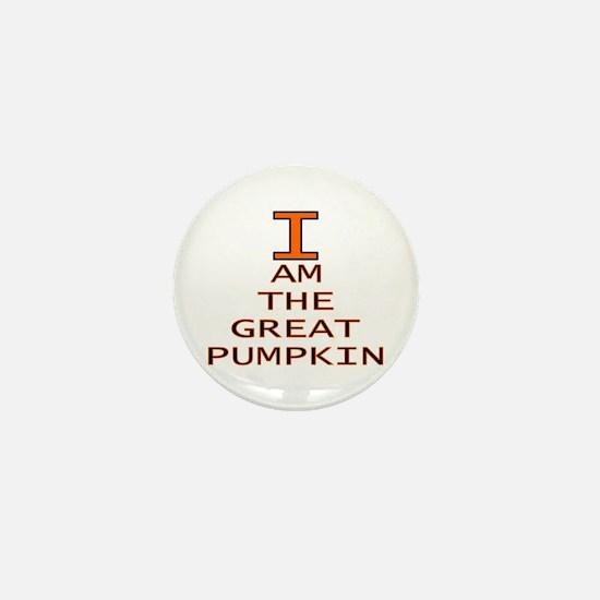 I am the Great Pumpkin Mini Button
