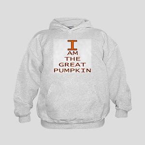 I am the Great Pumpkin Kids Hoodie