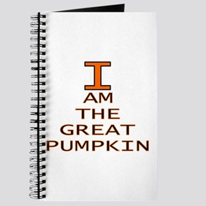 I am the Great Pumpkin Journal