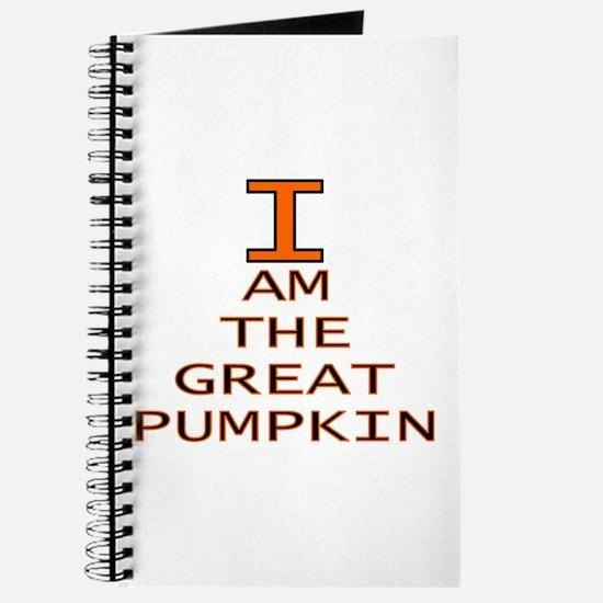 I am the Great Pumpkin Journal