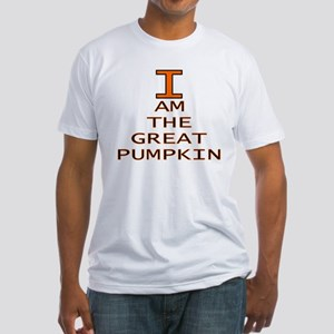 I am the Great Pumpkin Fitted T-Shirt