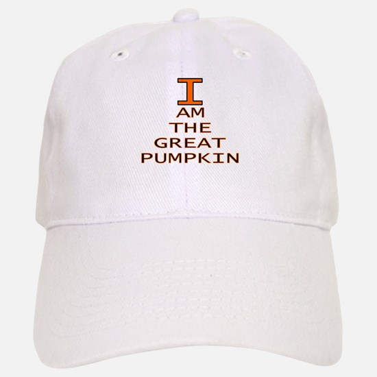 I am the Great Pumpkin Baseball Baseball Cap