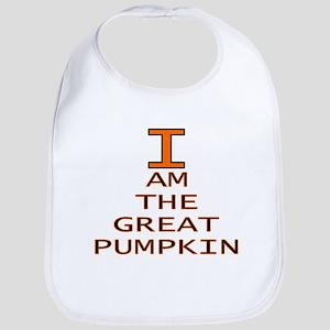 I am the Great Pumpkin Bib