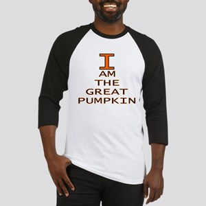 I am the Great Pumpkin Baseball Jersey