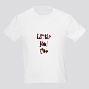 Little Red Car Kids Light T-Shirt