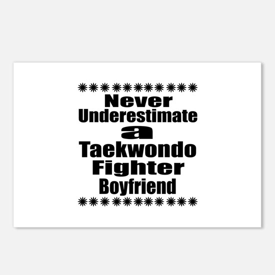 Never Underestimate Taekw Postcards (Package of 8)