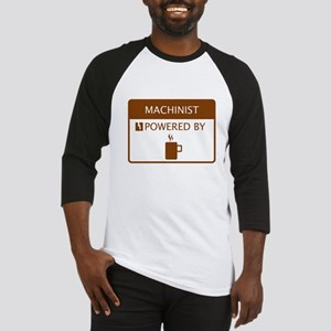 Machinist Powered by Coffee Baseball Jersey