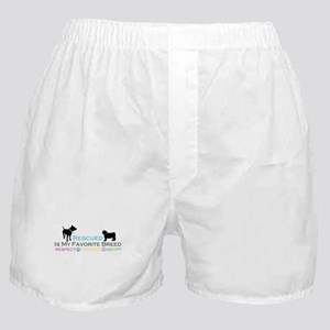Rescued Is Favorite Breed Boxer Shorts