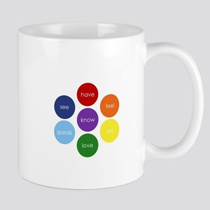 Chakra Circle Super Powers Mug