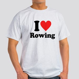 I Heart Rowing: Light T-Shirt