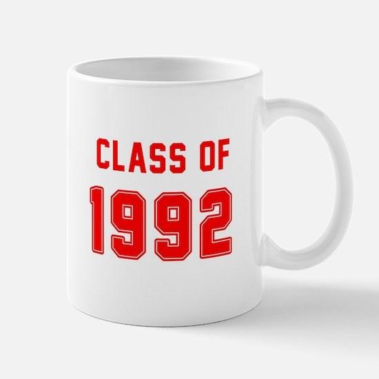 Class of 1992 Red Mugs