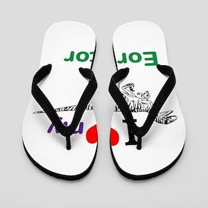 Eoraptor Flip Flops
