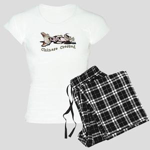 Flirty Chinese Crested Women's Light Pajamas