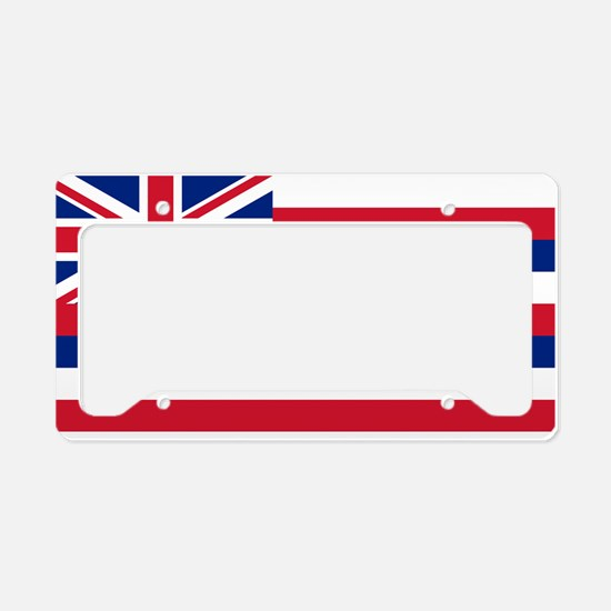 Hawaii State Flag License Plate Holder