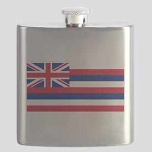 Hawaii State Flag Flask
