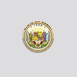 Hawaii State Seal Mini Button