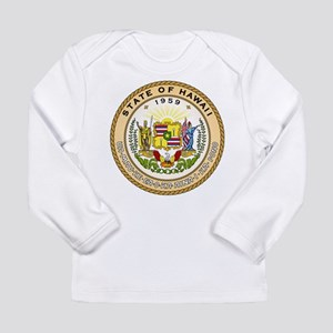 Hawaii State Seal Long Sleeve Infant T-Shirt
