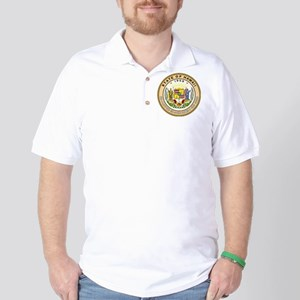 Hawaii State Seal Golf Shirt