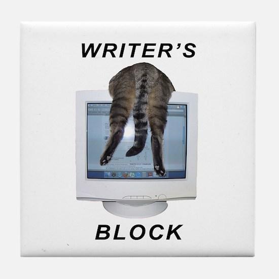 Writer's Block Tile Coaster