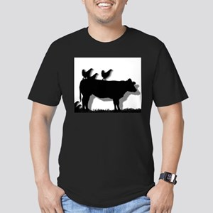 Chick-FAIL-A Chicken Men's Fitted T-Shirt (dark)