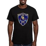 USS AJAX Men's Fitted T-Shirt (dark)