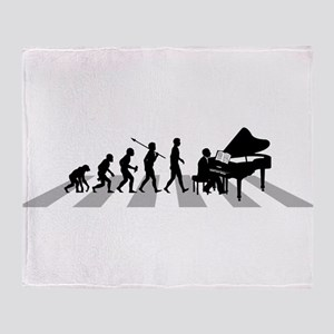 Pianist Throw Blanket