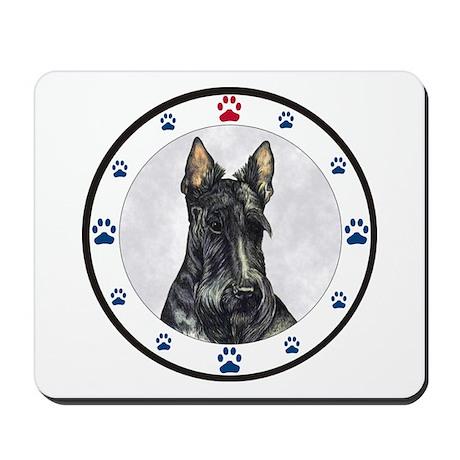 Scottish Terrier N Paws Mousepad