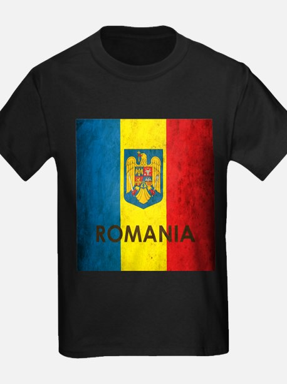 Romania Grunge Flag T