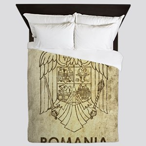 Vintage Romania Queen Duvet