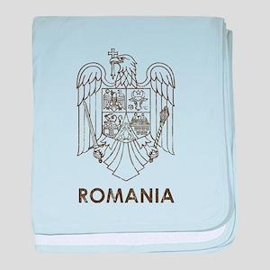Vintage Romania baby blanket