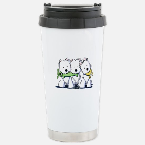 Westie Pro Players Stainless Steel Travel Mug