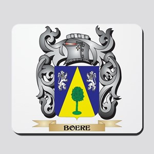 Boere Family Crest - Boere Coat of Arms Mousepad