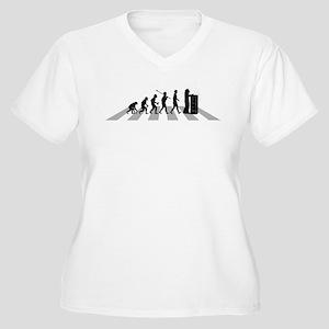 Beekeeper Women's Plus Size V-Neck T-Shirt