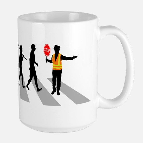 Crossing Guard Large Mug