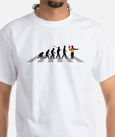 Crossing Guard White T-Shirt