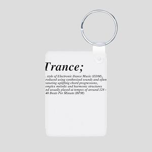 Trance definition Aluminum Photo Keychain