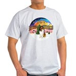 XMusic2-Collie (SW) Light T-Shirt
