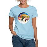 XMusic2-Collie (SW) Women's Light T-Shirt