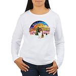 XMusic2-Collie (SW) Women's Long Sleeve T-Shirt