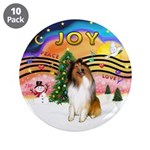 """XMusic2-Collie (SW) 3.5"""" Button (10 pack)"""