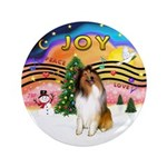 """XMusic2-Collie (SW) 3.5"""" Button (100 pack)"""