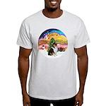 XMusic2-Collie (Tri) Light T-Shirt