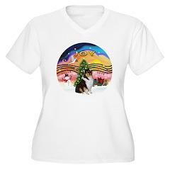 XMusic2-Collie (Tri) T-Shirt