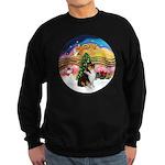 XMusic2-Collie (Tri) Sweatshirt (dark)