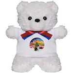 XMusic2-Collie (Tri) Teddy Bear