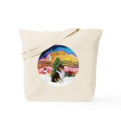 XMusic2-Collie (Tri) Tote Bag
