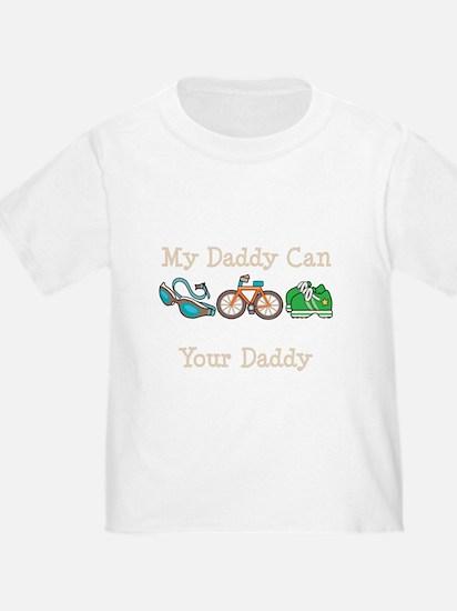 3-TriOutSwimDadDkT T-Shirt